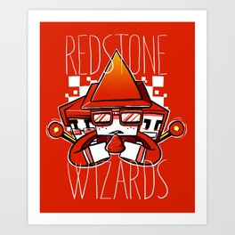 Redstone Withards Art Print