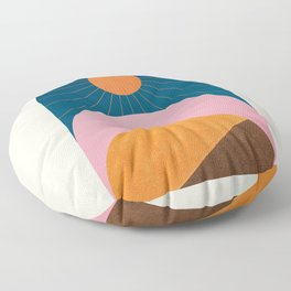 Abstraction_Sunshine_Minimalism_001 Floor Pillow