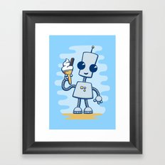 Ned's Ice Cream Framed Art Print