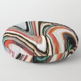 Waves of Color Floor Pillow