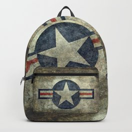 Stylized US Air force Roundel Backpack