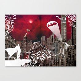 Gotham City Canvas Print