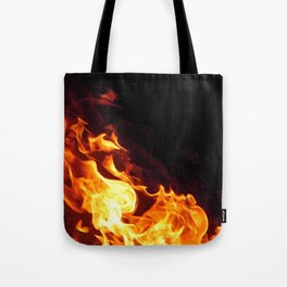 Fire Flicker Tote Bag