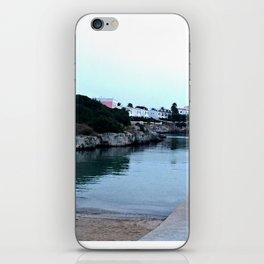 Hidden Beach in Ciutadella iPhone Skin