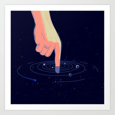 Astral Ring Art Print
