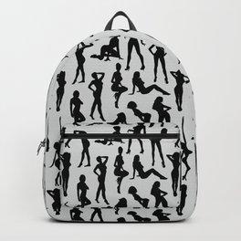 Femmes // Light Grey Backpack
