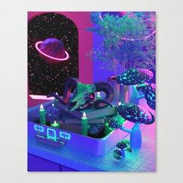 The Space Magic Craft Canvas Print