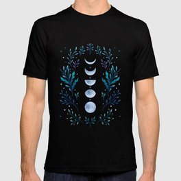 Moonlight Garden - Blue T-shirt