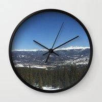 colorado Wall Clocks featuring Colorado by A&N2218