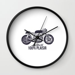LA LIBERTE 100% PLAISIR Wall Clock