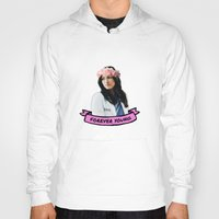 forever young Hoodies featuring Forever Young by drmedusagrey