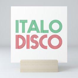 ITALO DISCO Mini Art Print
