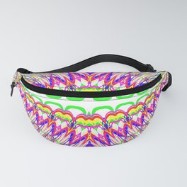 Rainbow Teeth Fanny Pack