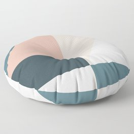 Cirque 01 Abstract Geometric Floor Pillow