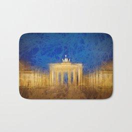 Modern Art BERLIN Brandenburg Gate Bath Mat