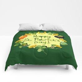 Happy St Patrick`s Day Comforters