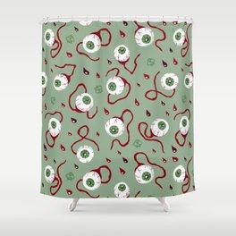 Eyeballs Shower Curtain