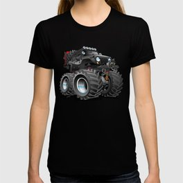 Off Road 4x4 Cartoon T-shirt