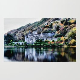 A Castle in Reflection Rug