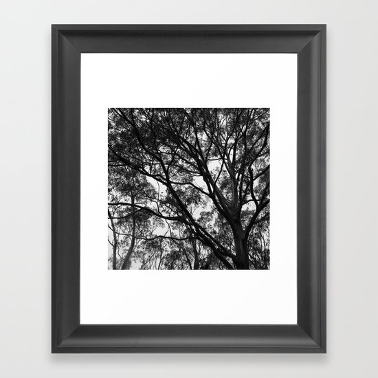 Take a Minute Just to Breathe Framed Art Print