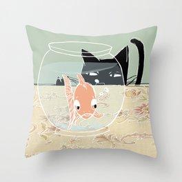 Fishy Throw Pillow