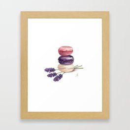 Macarons Framed Art Print