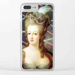 Rad Marie Clear iPhone Case