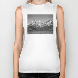 Ansel Adams - Grass Valley and Grand Tetons Biker Tank