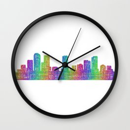 Denver Wall Clock