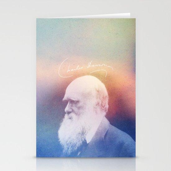 Heart Of Stone. Darwin. 1809-1882. Stationery Cards