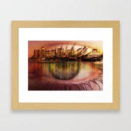 boston view Framed Art Print