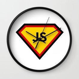 Java script - js programming language Wall Clock