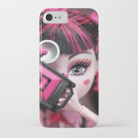 monster high iPhone & iPod Cases featuring Draculaura Monster High Dolls MHSQ by KittRen