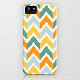 Citrus Chevron iPhone Case