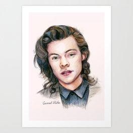 Harry colors Art Print