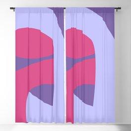 purple life Blackout Curtain
