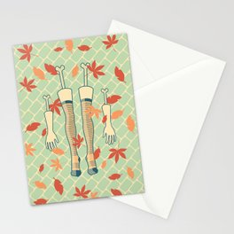 fall (in love) Stationery Cards