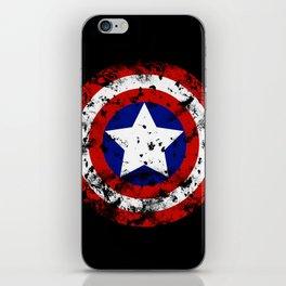 Captain's Shield iPhone Skin