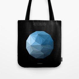 Continuum black Tote Bag