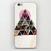 pyramid iPhone & iPod Skins featuring PYRAMID by dara dean