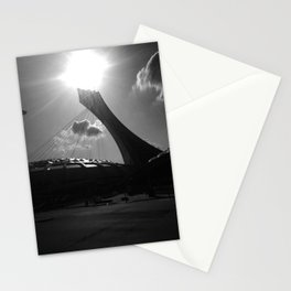 Montreal' stade Stationery Cards