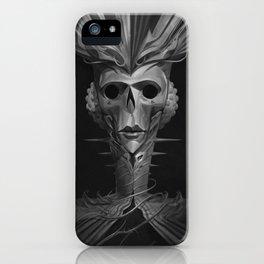 Skeleton Lady iPhone Case
