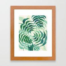 Botanical vibes Framed Art Print