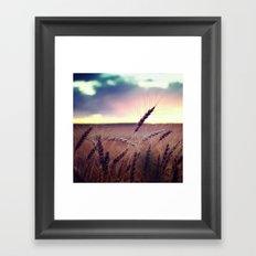 Glide and Sing Framed Art Print