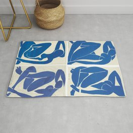 The Blue Nudes - Henri Matisse Rug