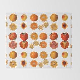 Fruit Attack Throw Blanket