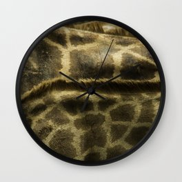 Differences Between Giraffees Wall Clock