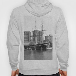 A US Frigate Ship in Baltimore, MD Hoody