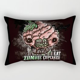I Eat Zombie Cupcakes! Rectangular Pillow