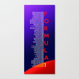 Formula 1 Champions - Infiniti Red Bull Racing 2013 edition Canvas Print